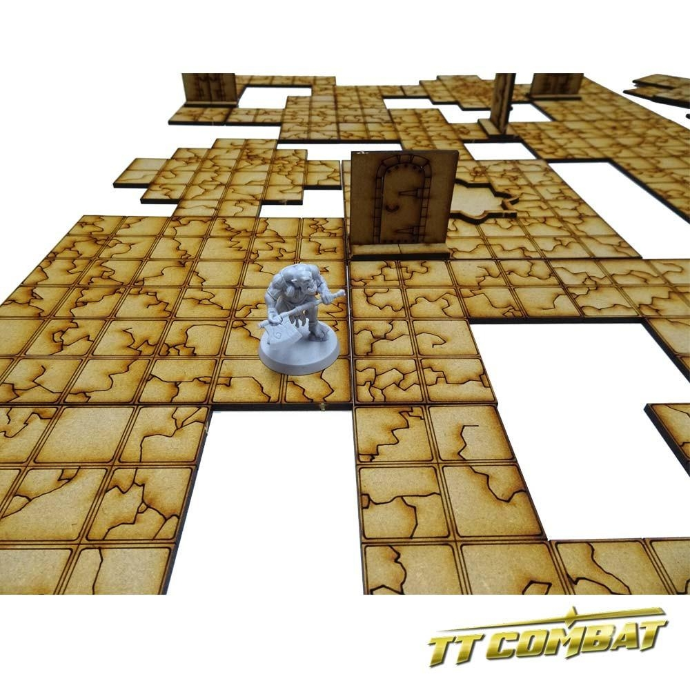Dungeon Tile Set A - RPG Scenery - TTCombat Scenery