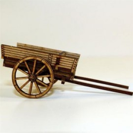 Unpainted Horse Drawn Utility Cart