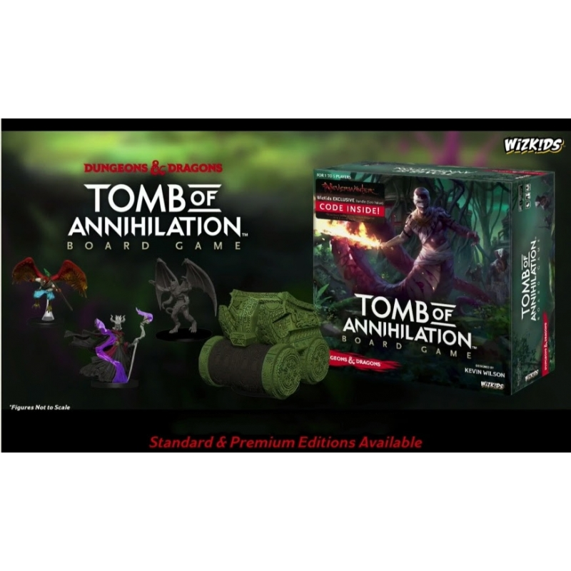 D D Tomb Of Annihilation Standard Edition Board Game 2017 Wayland