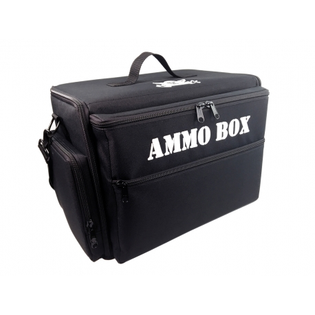 Ammo Box Bag Pluck Foam Load Out (Black)