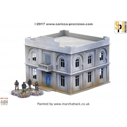 20mm North African Colonial Admin Building/Hotel