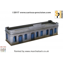 20mm North African Colonial Large Single Storey Building