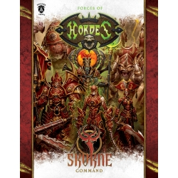 Forces of HORDES: Skorne Command Hardback