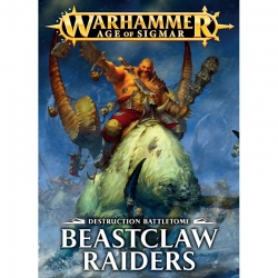Battletome: Beastclaw Raiders Softback - French