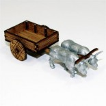 Unpainted Peasants Cart
