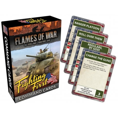 Fighting First Command Cards