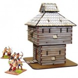 Pre-painted Log Timber Blockhouse