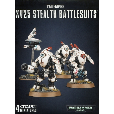 Tau Empire XV25 Stealth Battlesuits