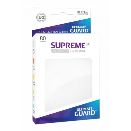 Supreme UX Sleeves Standard Size - White