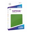 80x Supreme UX Sleeves Standard Size - Green