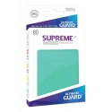80x Supreme UX Sleeves Standard Size - Turquoise
