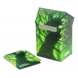 Deck Case 80+ Standard Size Lands Edition - Forest