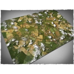4ft x 6ft, Aerial Field Theme Mousepad Games Mat
