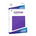 80x Supreme UX Sleeves Standard Size Matte - Purple