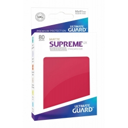 Supreme UX Sleeves Standard Size Matte - Red