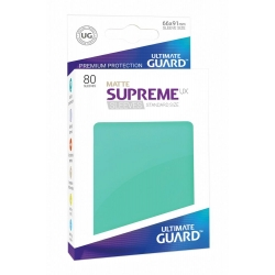 Supreme UX Sleeves Standard Size Matte - Turquoise