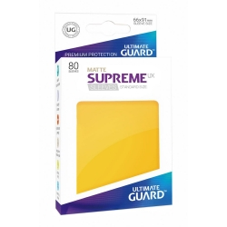 Supreme UX Sleeves Standard Size Matte - Yellow