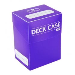 Deck Case 80+ Standard Size - Purple
