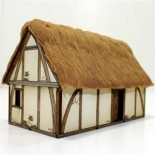Pre-Painted Late Saxon/ High Med Dwelling