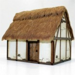 Pre-Painted Late Saxon / High Med Hovel