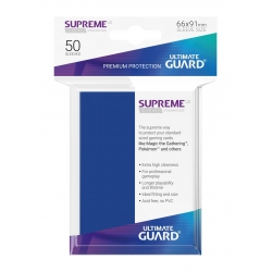 50x Supreme UX Sleeves Standard Size - Blue