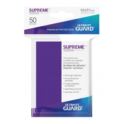 50x Supreme UX Sleeves Standard Size - Purple