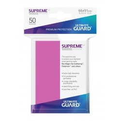 50x Supreme UX Sleeves Standard Size - Pink