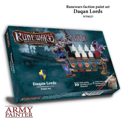 Runewars Miniatures Game Daqan Lords Paint Set