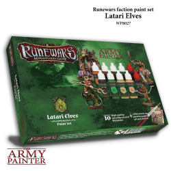 Runewars Miniatures Game Latari Elves Paint Set