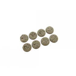 Jungle Bases, Round 32mm