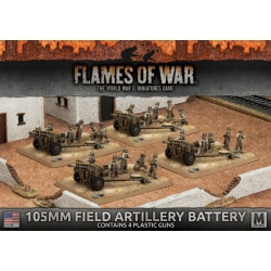 105mm Field Artillery Battery