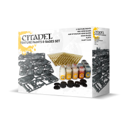 Citadel Texture Paints & Bases Set 2017
