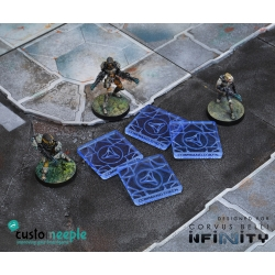 Infinity Command Tokens - Combined Army