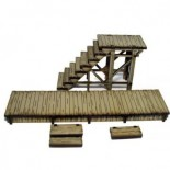 Pre-painted Add-on Boardwalks and Stairs