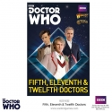 The Fifth, Eleventh and Twelfth Doctors