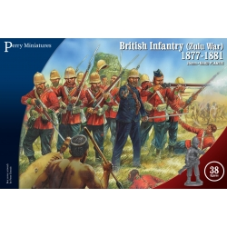 British Infantry (Zulu War) 1877 - 1881