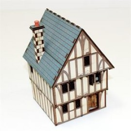 Pre-Painted Timber Framed Shop/Dwelling
