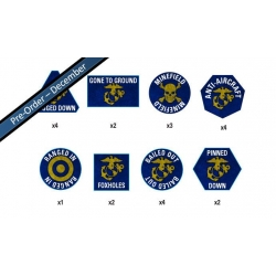 United states Marine Tokens Set