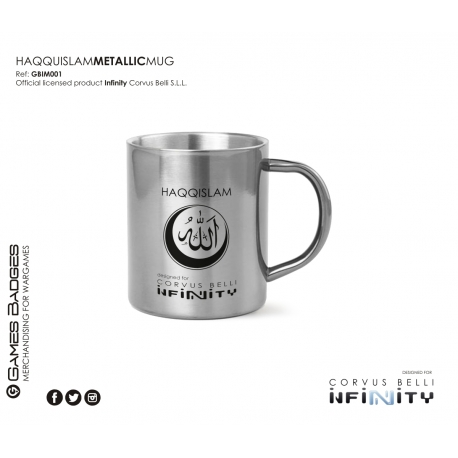 Infinity the Game Metallic Faction Mugs - Haqquislam
