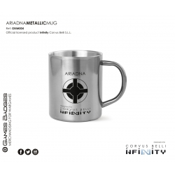 Infinity the Game Metallic Faction Mugs - Ariadna