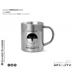 Infinity the Game Metallic Faction Mugs - Nomads