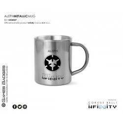 Infinity the Game Metallic Faction Mugs - Aleph