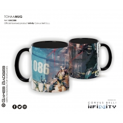 Infinity the Game Ceramic Faction Mugs - Tohaa