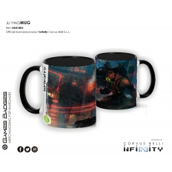 Infinity the Game Ceramic Faction Mugs - Yu Jing