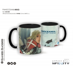 Infinity the Game Ceramic Faction Mugs - Panoceania