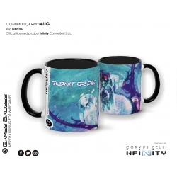 Infinity the Game Ceramic Faction Mugs - Combined Army