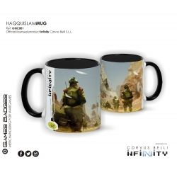 Infinity the Game Ceramic Faction Mugs - Haqquislam