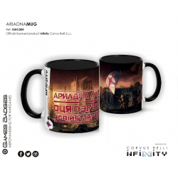 Infinity the Game Ceramic Faction Mugs - Ariadna