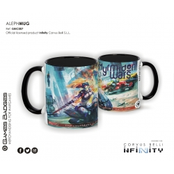 Infinity the Game Ceramic Faction Mugs - Aleph