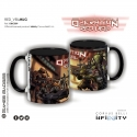 Infinity the Game Ceramic Faction Mugs - Operation Red Veil